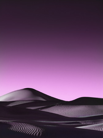 Trilogy l Magenta of The Dune Vision